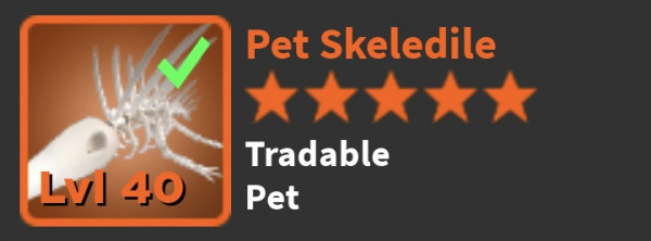 SKELEDILE PET (world zero)