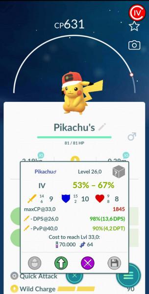 Pikachu - Ash Hat Event