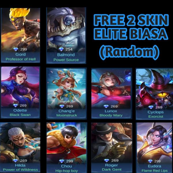 Akun Smarf Bp 70k+ Hero 8+1 ,Skin 2 + Bonus 2 Skin