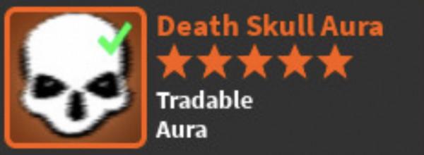 Death Skull aura (limited) -World zero