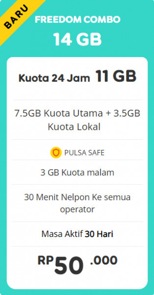 Freedom Combo 14GB