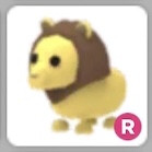 Ride Lion (Ultra- Rare) Adoptme Pets