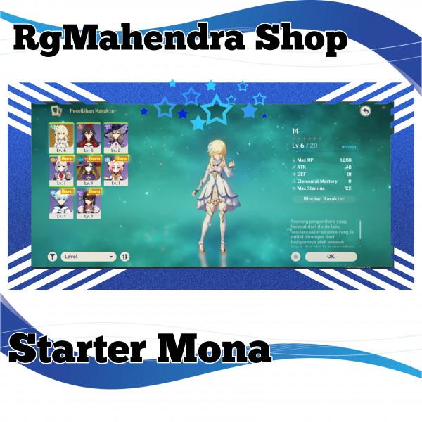 Starter Mona BerWeapon B4