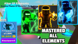 Ninja Legend unlock all element