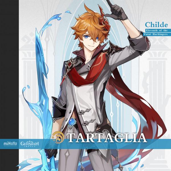 Akun TARTAGLIA Childe Starter [ASIA]