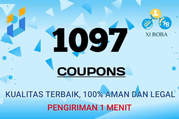 Top Up 1097 Coupons
