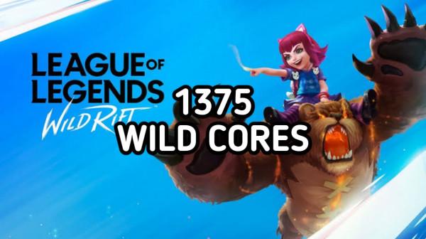 1375 Wild Cores