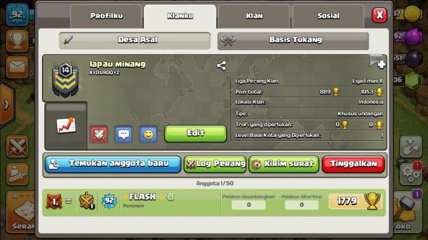 Clan Level 14 Lapau Minang
