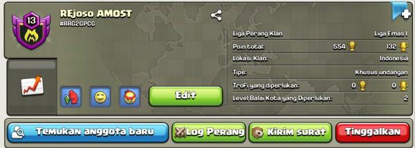 Clan Level 13