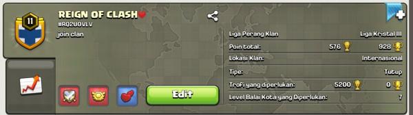 Clan Level 11