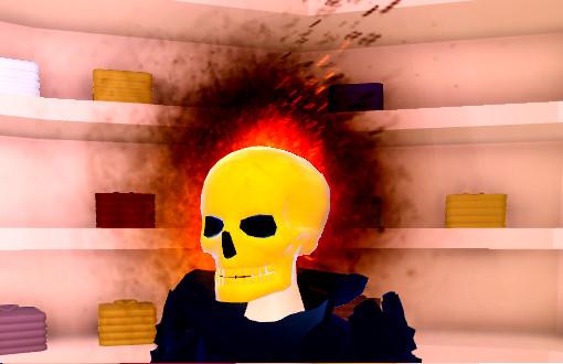 Headless Horseman Skull [ Limited ] | World Zero