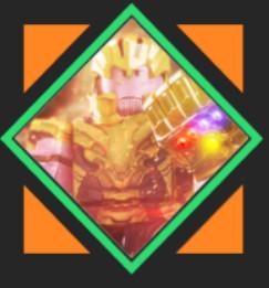 SIdekick Thanos - Heroes Online