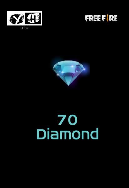 Top Up 70 Diamonds