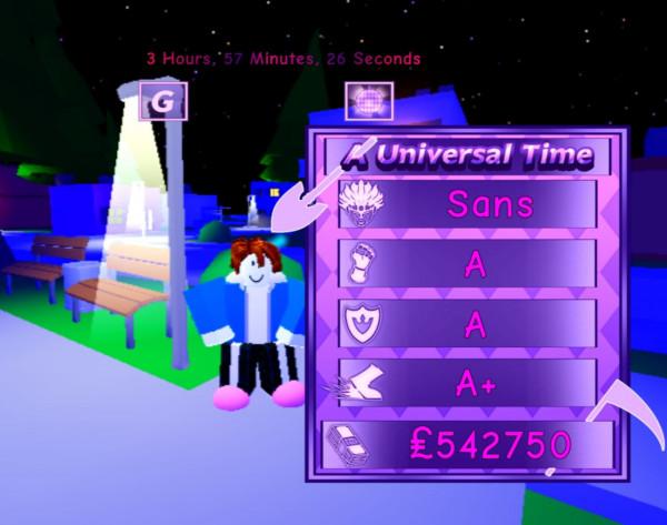 Sans - A Universal Time