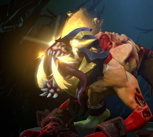 Golden Dark Maw Inhibitor (Immortal Lifestealer)