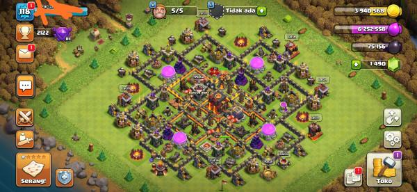 Clash Of Clans TH 10 hero Murmer GG