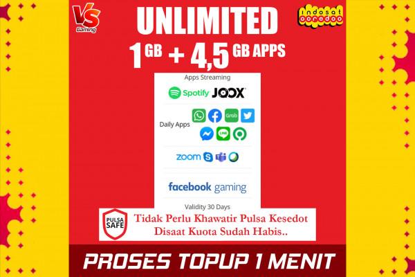 Freedom Unlimited 1GB (30 Hari)