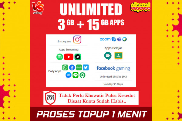Freedom Unlimited 3GB (30 Hari)
