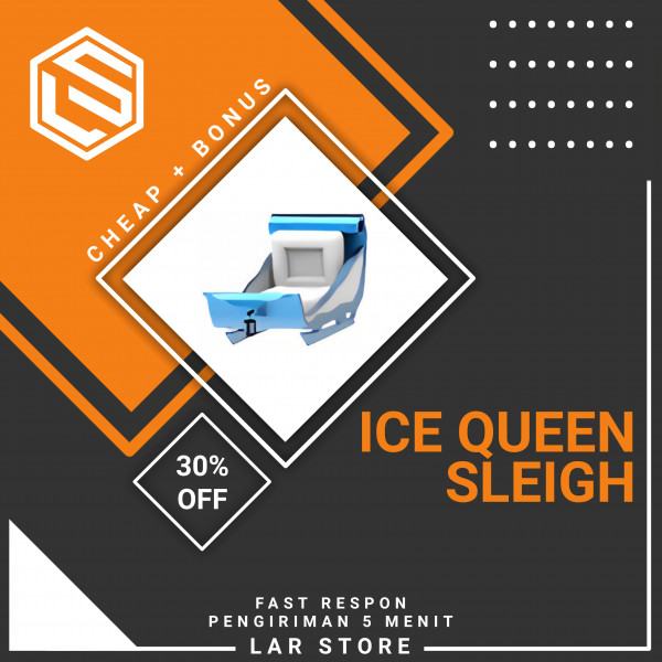Ice Queen Sleigh | Adopt Me Vehicles
