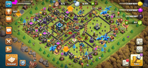 Clash of Clans TH 13 MAX