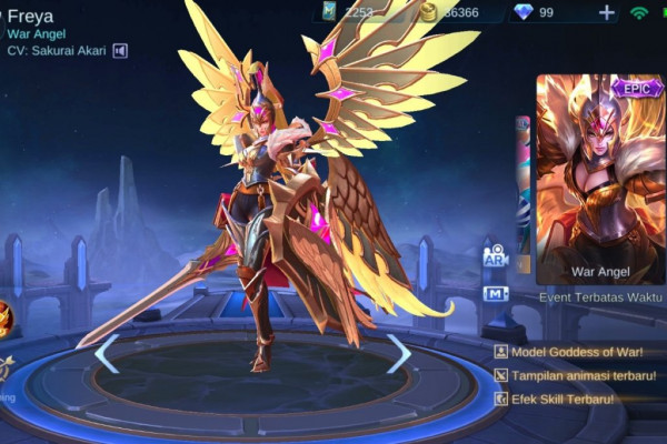 Raven Shogun (Epic Skin Freya)