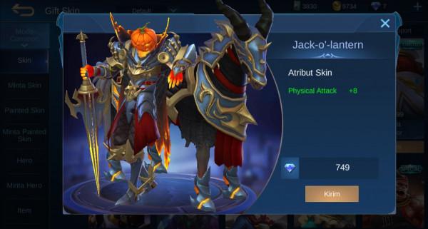 Jack-O-Latern (skin special Leomord)