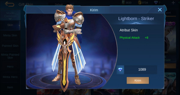 Lightborn - Striker (Alucard Lightborn Skin)