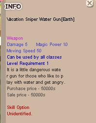 Vaca Gun Water Sniper