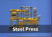 Steel Press - SkyBlock - ISLANDS - Roblox
