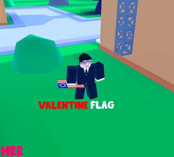 Valentine Flag | A Universal Time (AUT)