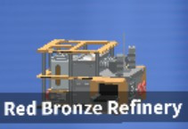 Red Bronze Refinery - SkyBlock - ISLANDS - Roblox