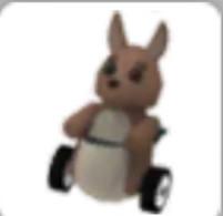 Kangaroo stroller langkah