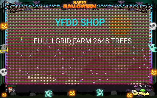 Laser Grid / L Grid Full Farm (Ready Harvest)