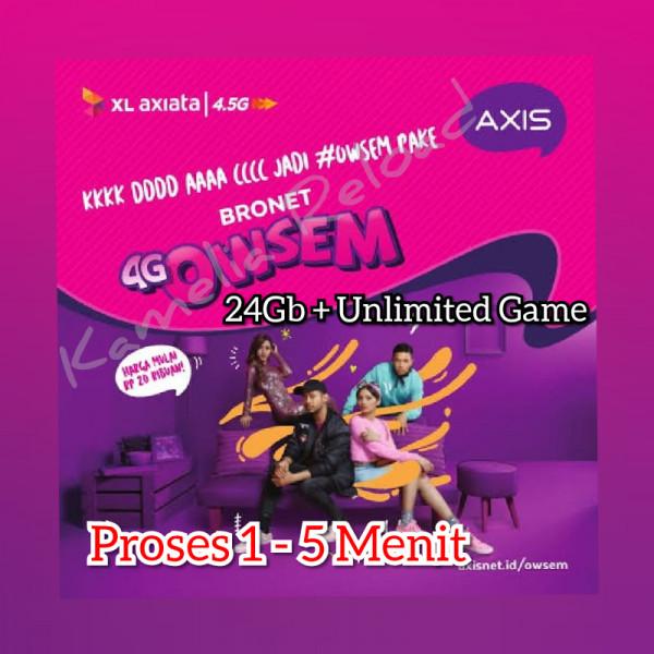 AXIS OWSEM (24 GB 30Hari)