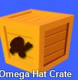 100 pcs Omega Hat Crate