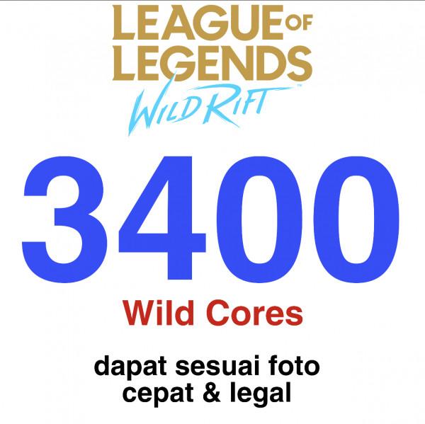 3400 Wild Cores