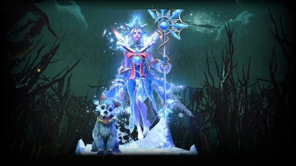 Exalted Frost Avalanche (Crystal Maiden)