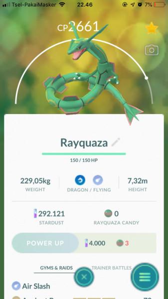 Rayquaza (Legendary)