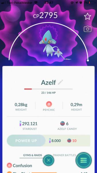 Azelf (Legendary)