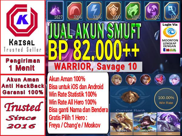 Akun Smurft BP Banyak Futsu