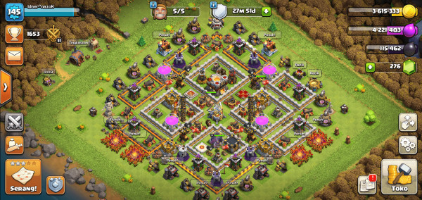 COC TOWNHALL 11 HIGH QUALITY