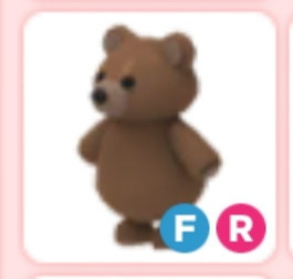 Brown Bear FR (Fly/Ride) - Adopt Me