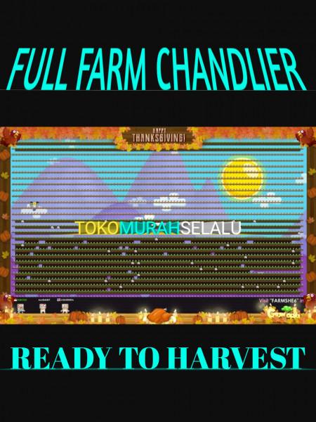 FULL FARM CHANDLIER /READY TO HARVEST