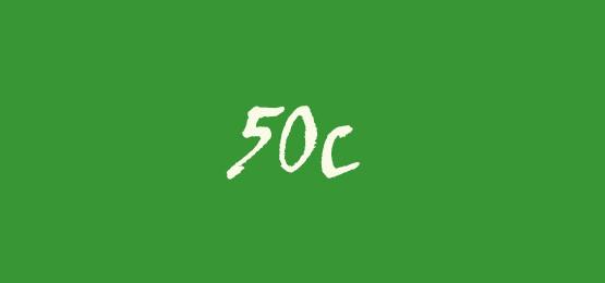Sticker Line 50c