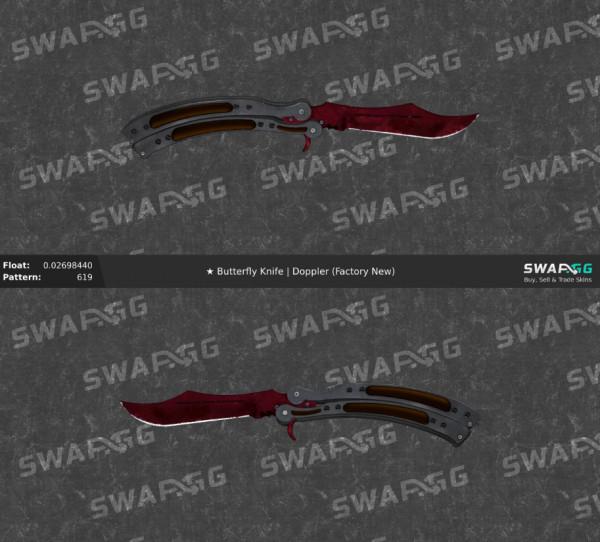 Butterfly Knife | Doppler (Ruby) FN