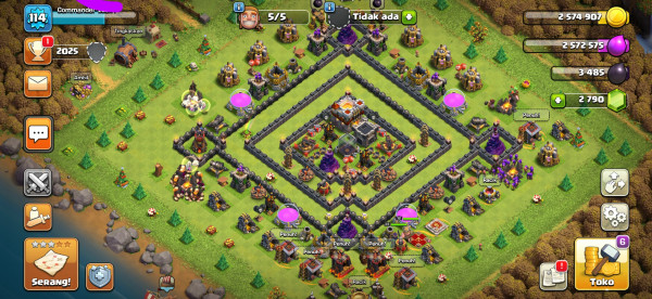 TH 11 BUILDER 5 COCOK BUAT DONANSI