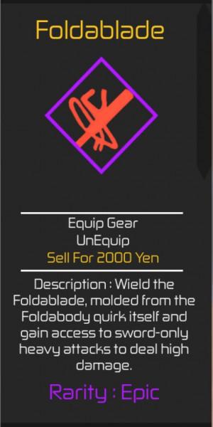 Foldablade (Heroes Online)