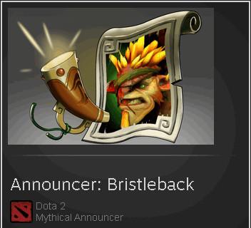 Announcer: Bristleback