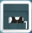 Silk vest - black