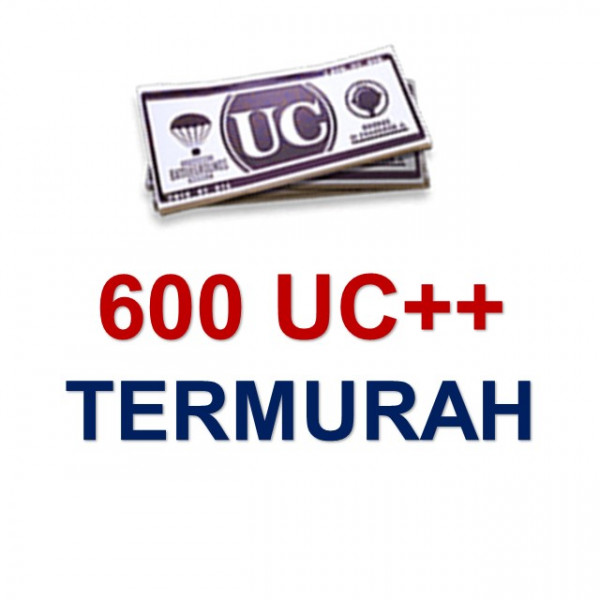 Top Up 600 UC